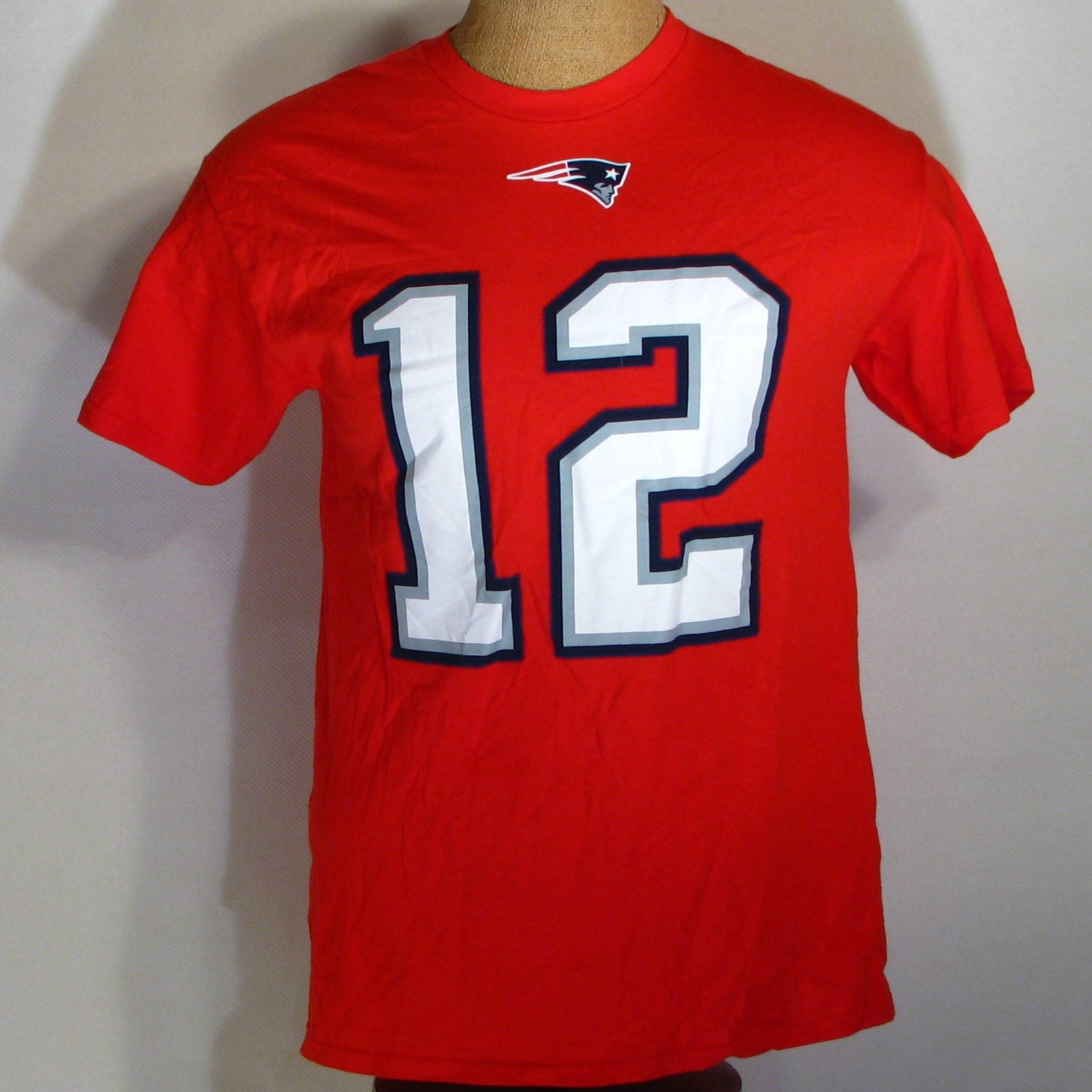 New England Patriots Tom Brady # 12 T-Shirt