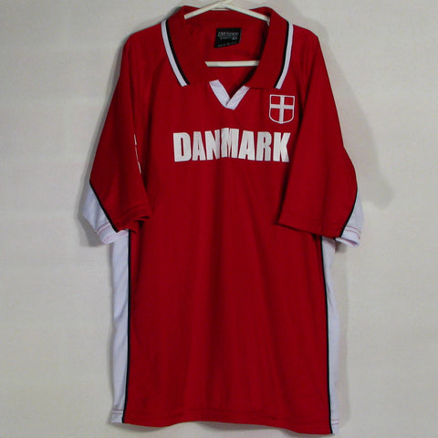 Danmark # 9 Soccer Jersey Mens/Youth