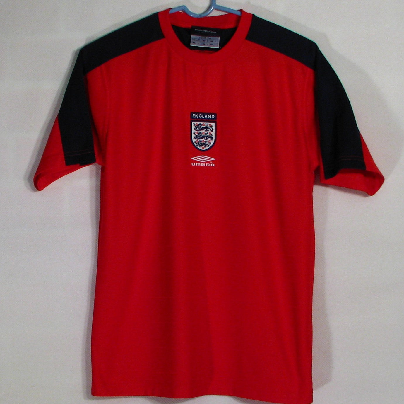 England Umbro Soccer Jersey