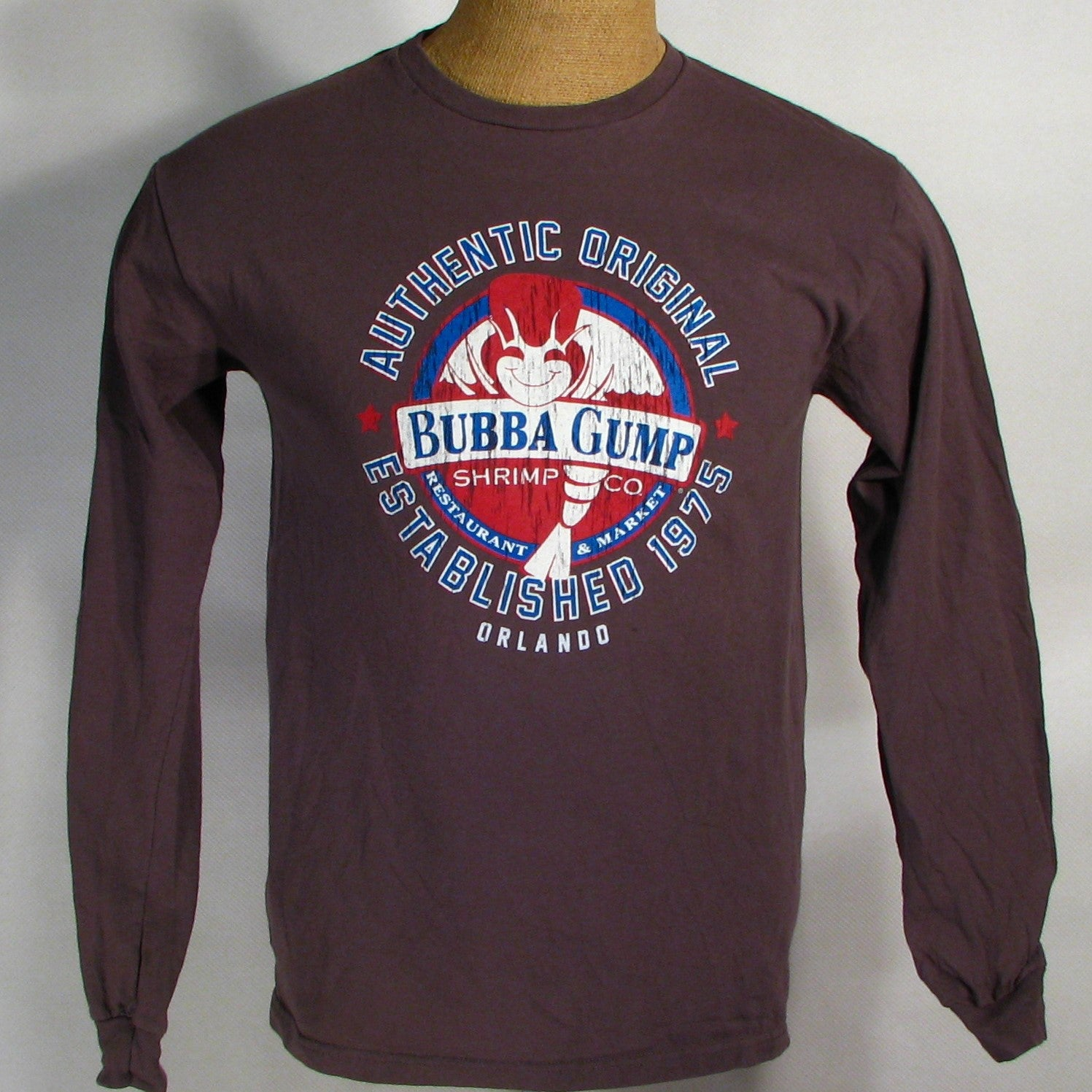 Bubba Gump Shrimp Company Long Sleeve T-Shirt