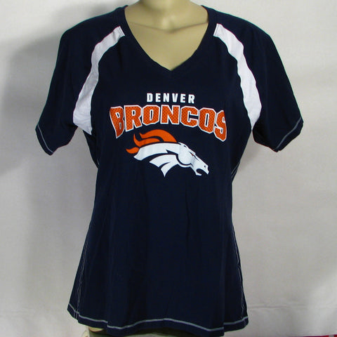 Denver Broncos T-Shirt Womens
