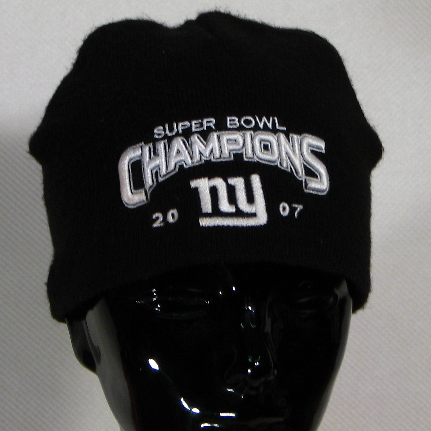 New York Giants 2007 Superbowl Champs Toque