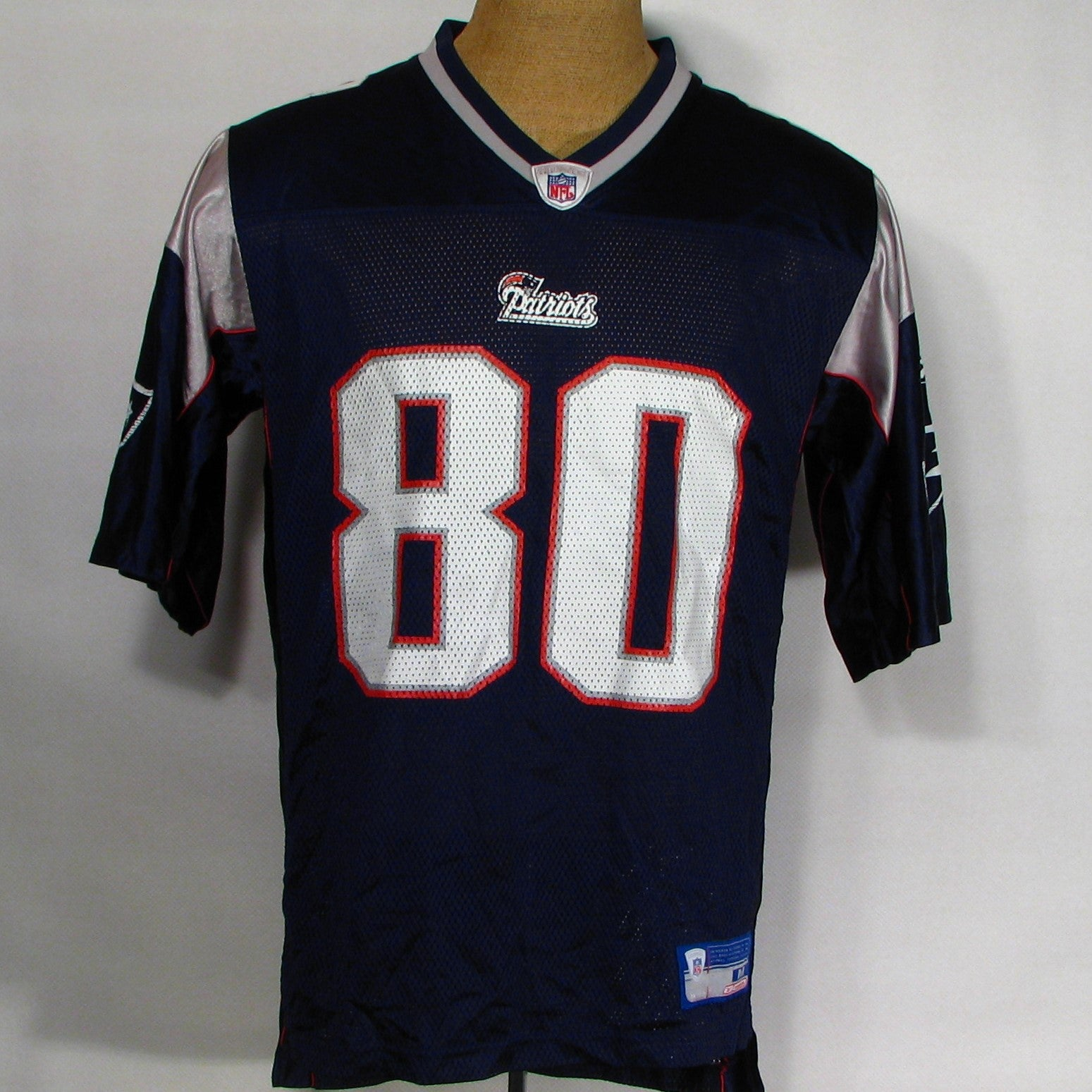 New England Patriots Brown # 80 Jersey