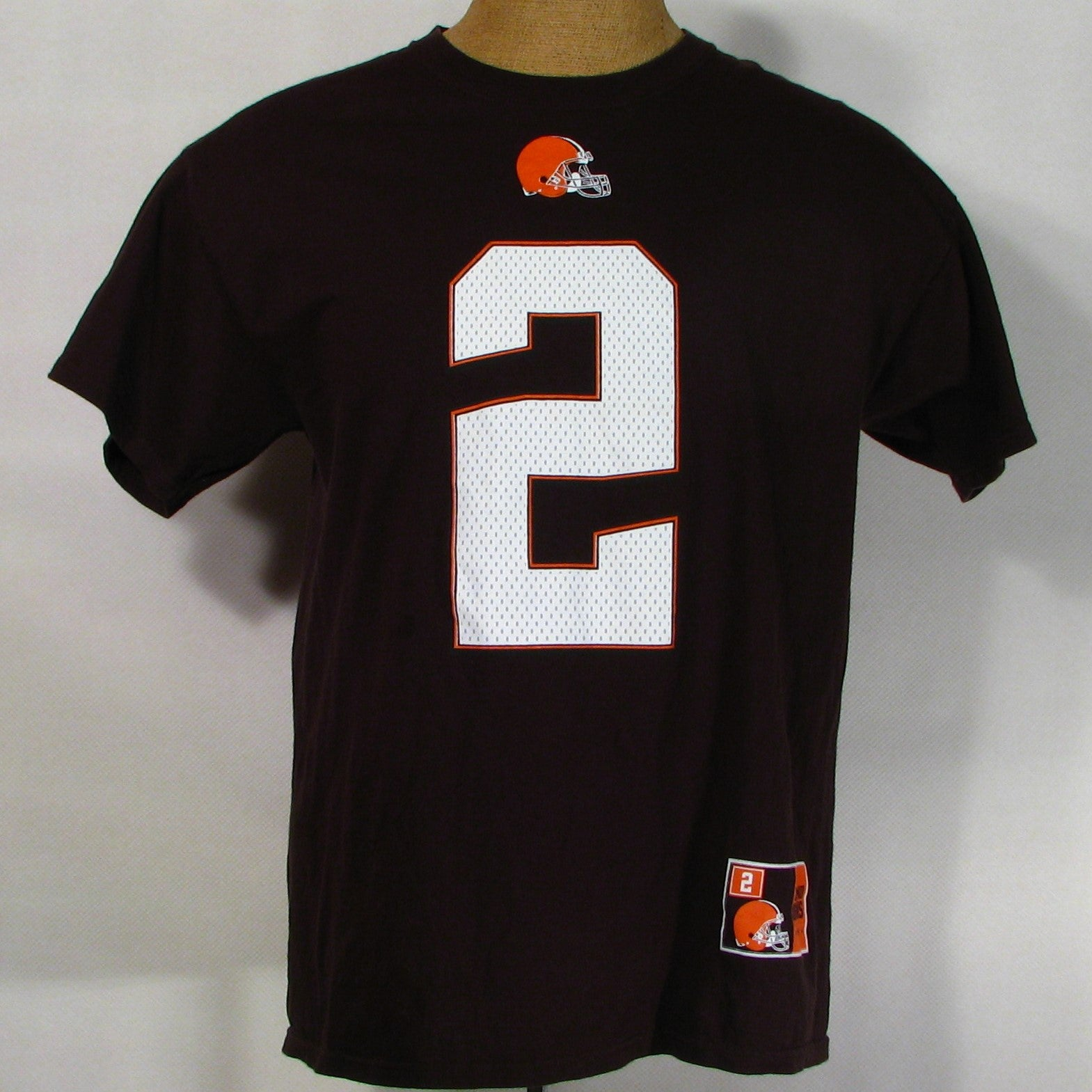 ... jersey cad26 9e91f netherlands cleveland browns manziel 2 t shirt a8a1c  cb627 greece item 2 new women nfl johnny ... e2c00ec44