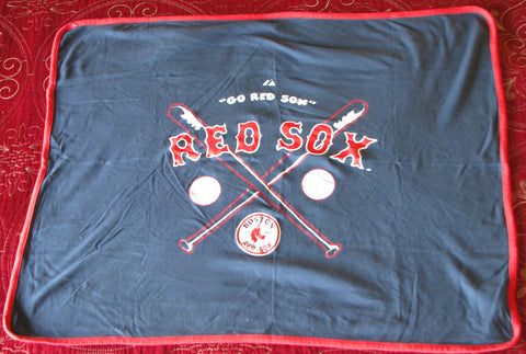 Boston Red Sox Baby Blanket
