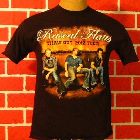 2012 Rascal Flatts Thaw Out Tour T-Shirt