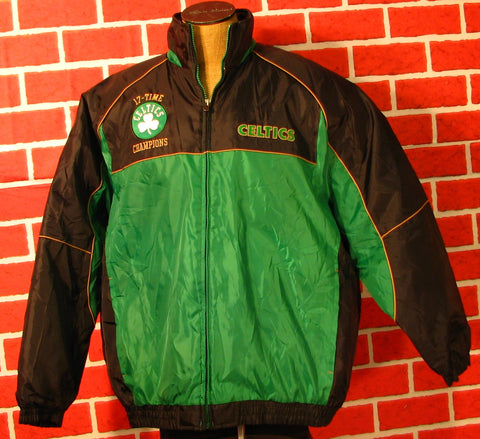 Boston Celtics 17 Time Champions Jacket