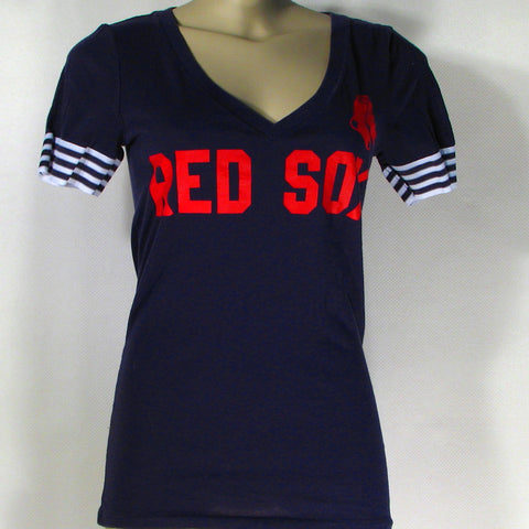 Red Sox Love Pink T-Shirt Womens