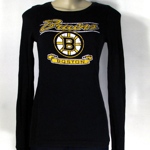 Boston Bruins Long Sleeve T-Shirt Womens