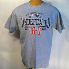 New England Patriots 2007 Undefeated T-Shirt