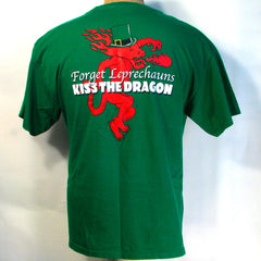 Fireball Forget Lerechauns kiss the Dragon T-Shirt