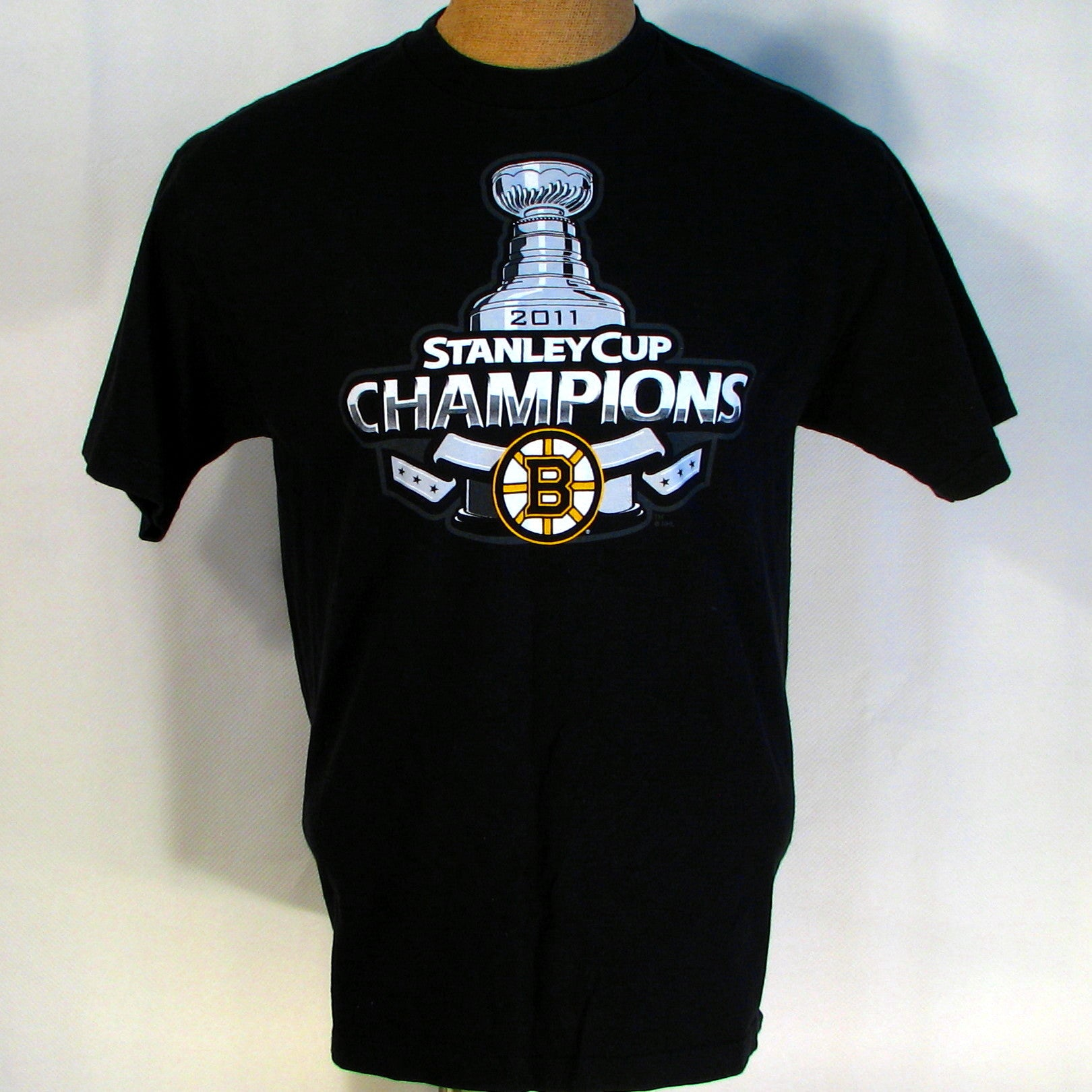 Boston Bruins 2011 Stanley Cup Champions T-Shirt