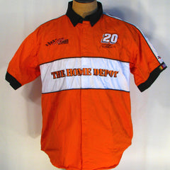 Tony Stewart 20 Joe Gibbs Racing Home Depot shirt