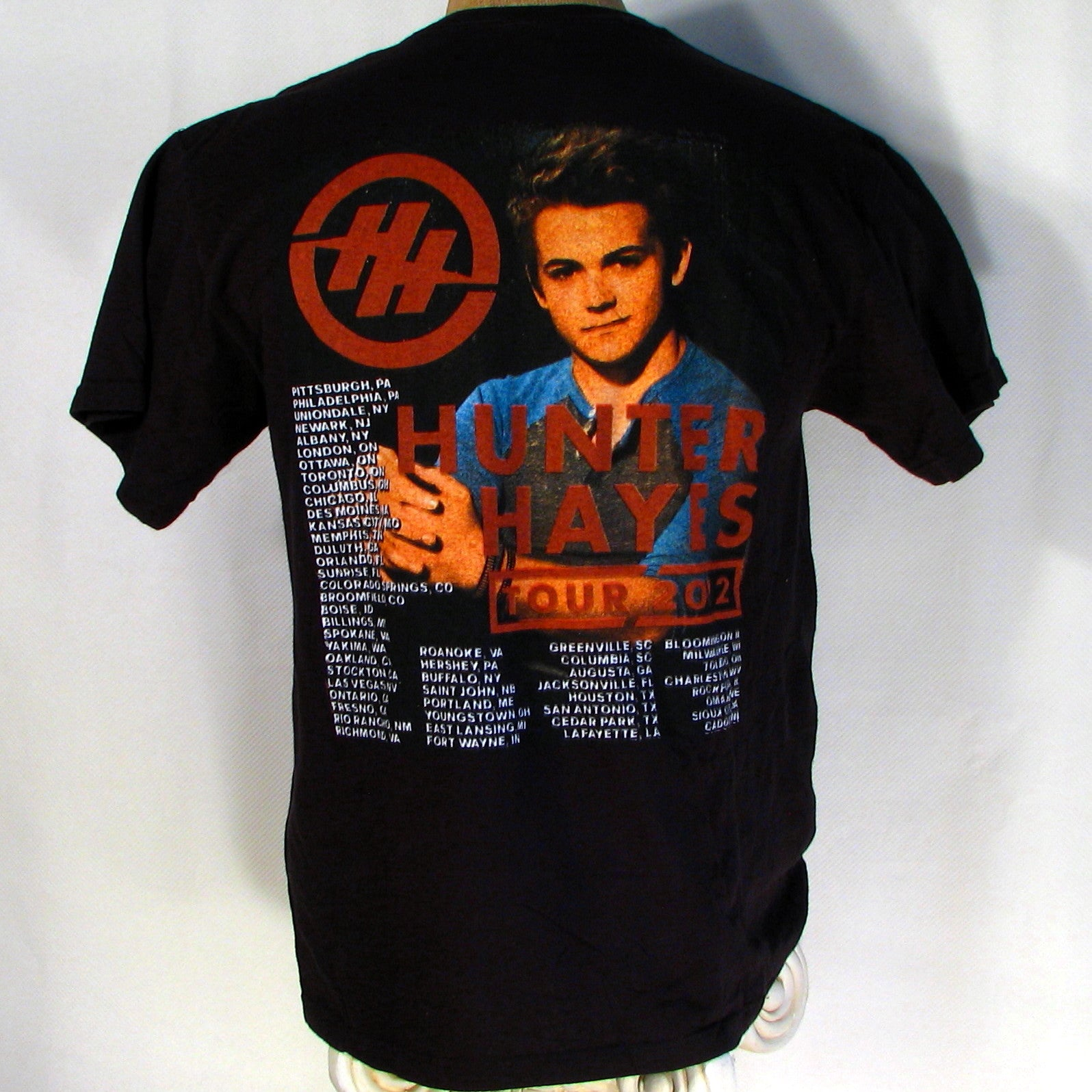 Carrie Underwood/Hunter Hayes 2012 Blown away Tour T-Shirt
