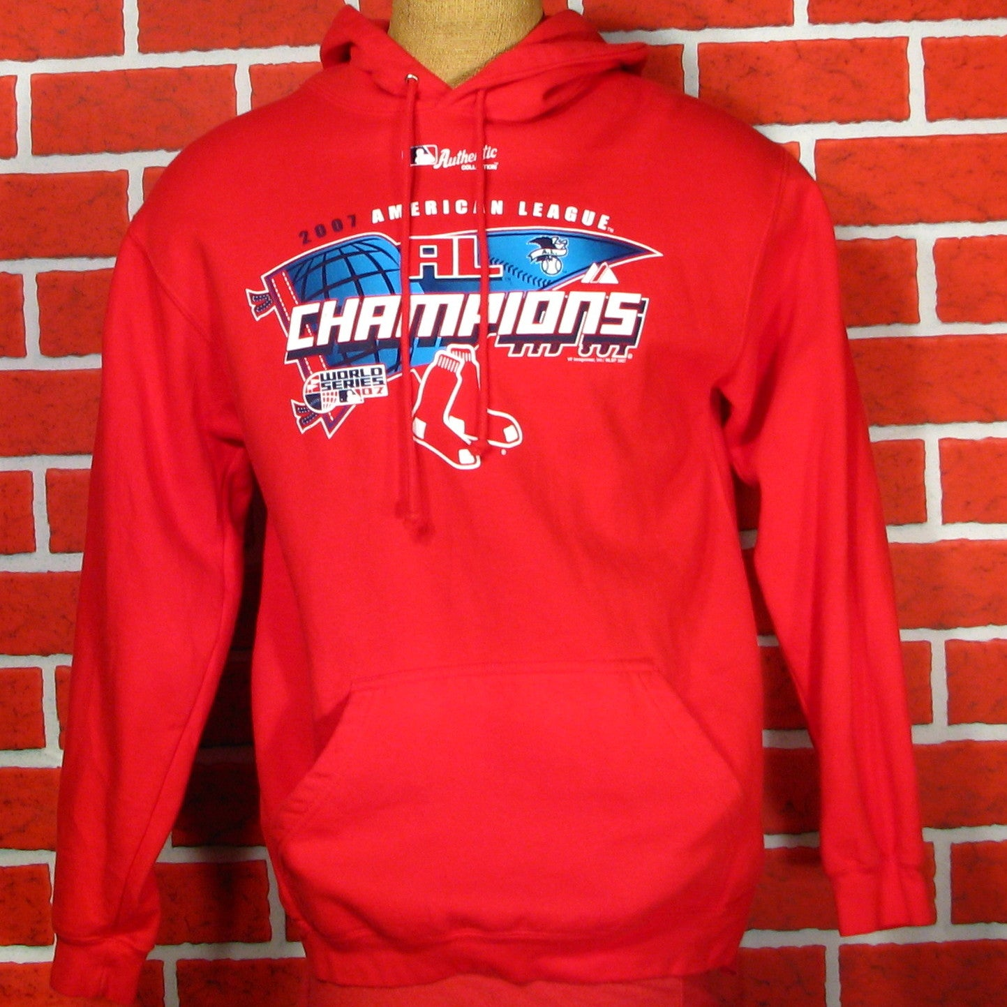 Boston Red Sox 2007 AL Champions Hoodie