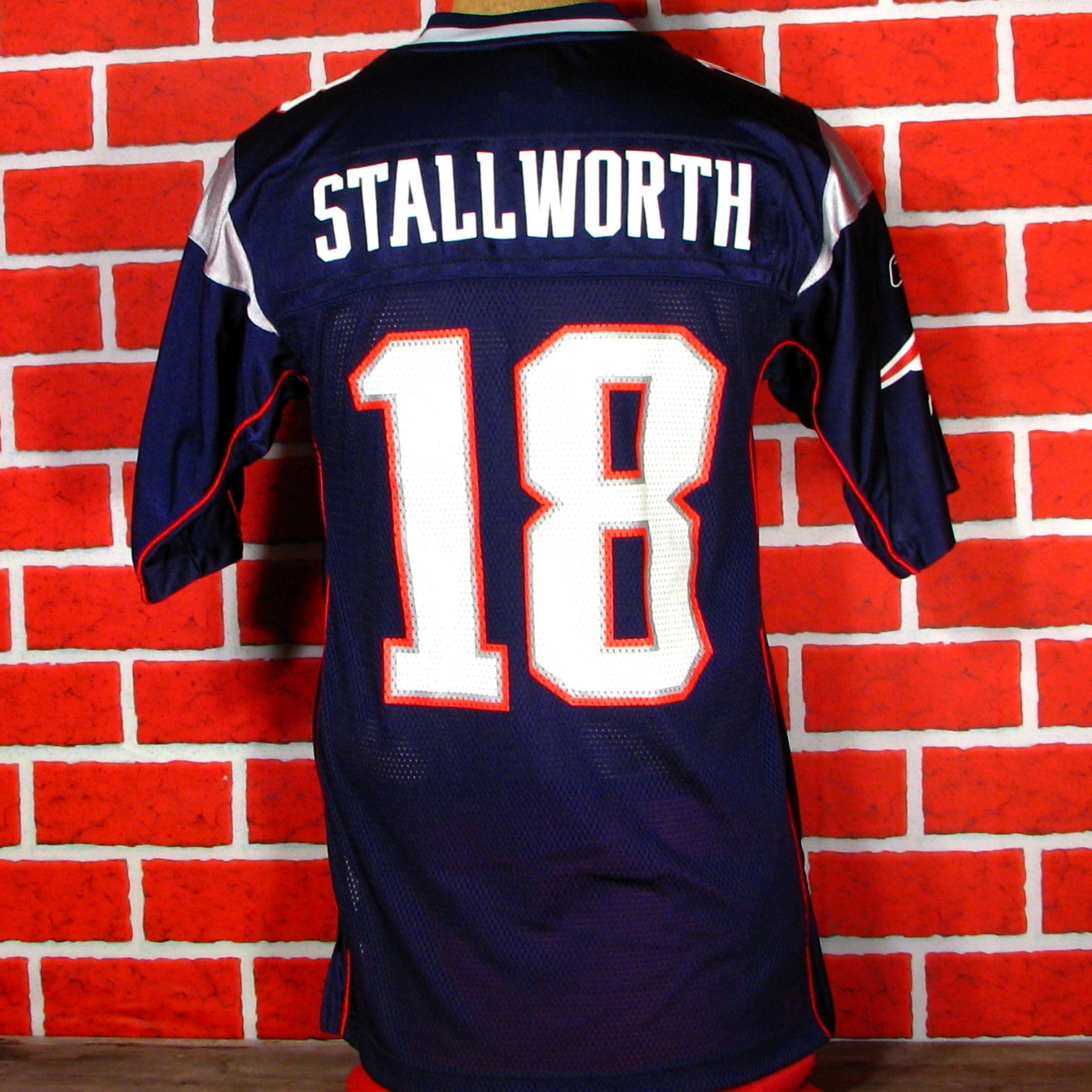 New England Patriots Stallworth # 18 Jersey