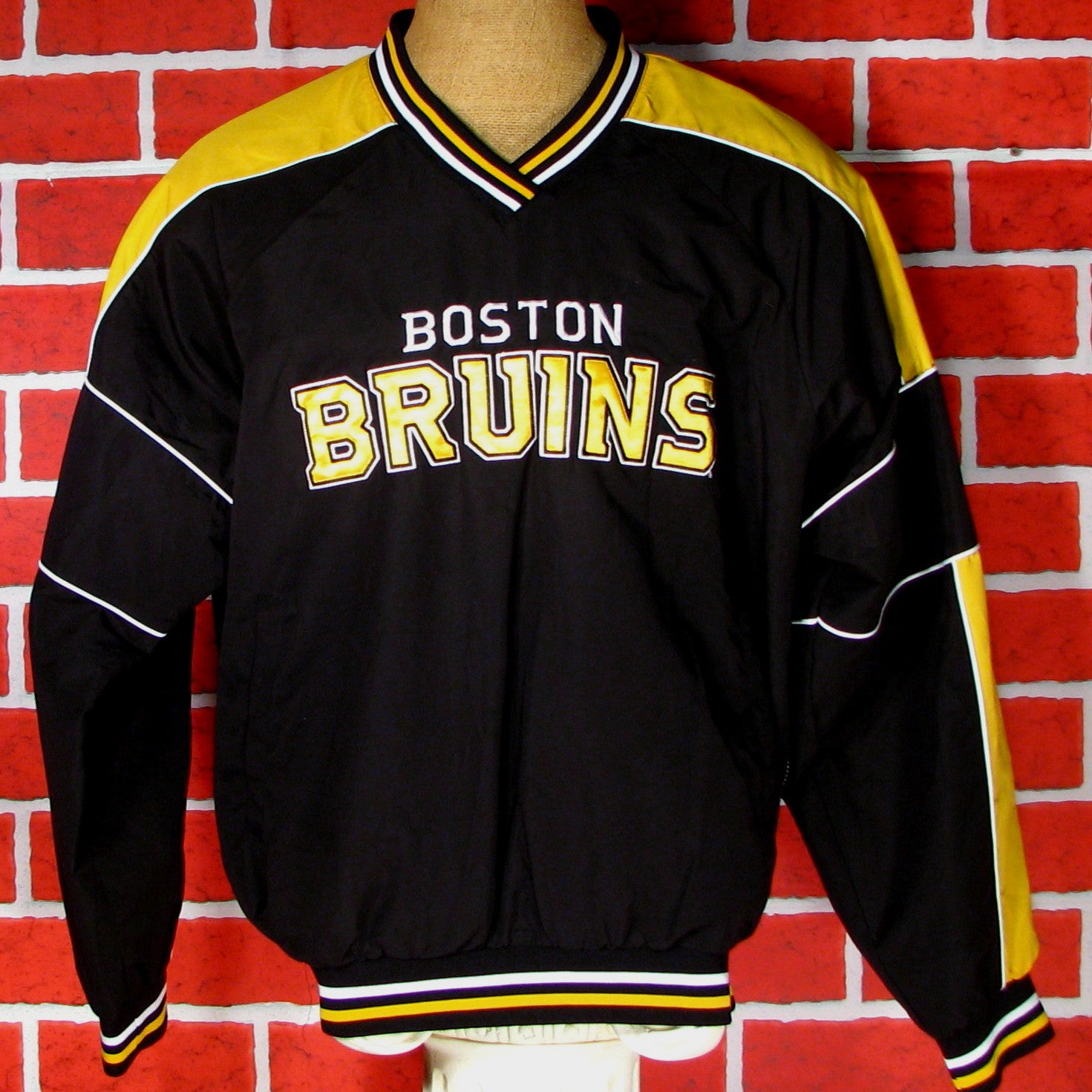 Boston Bruins Polyester Windbreaker/Pullover
