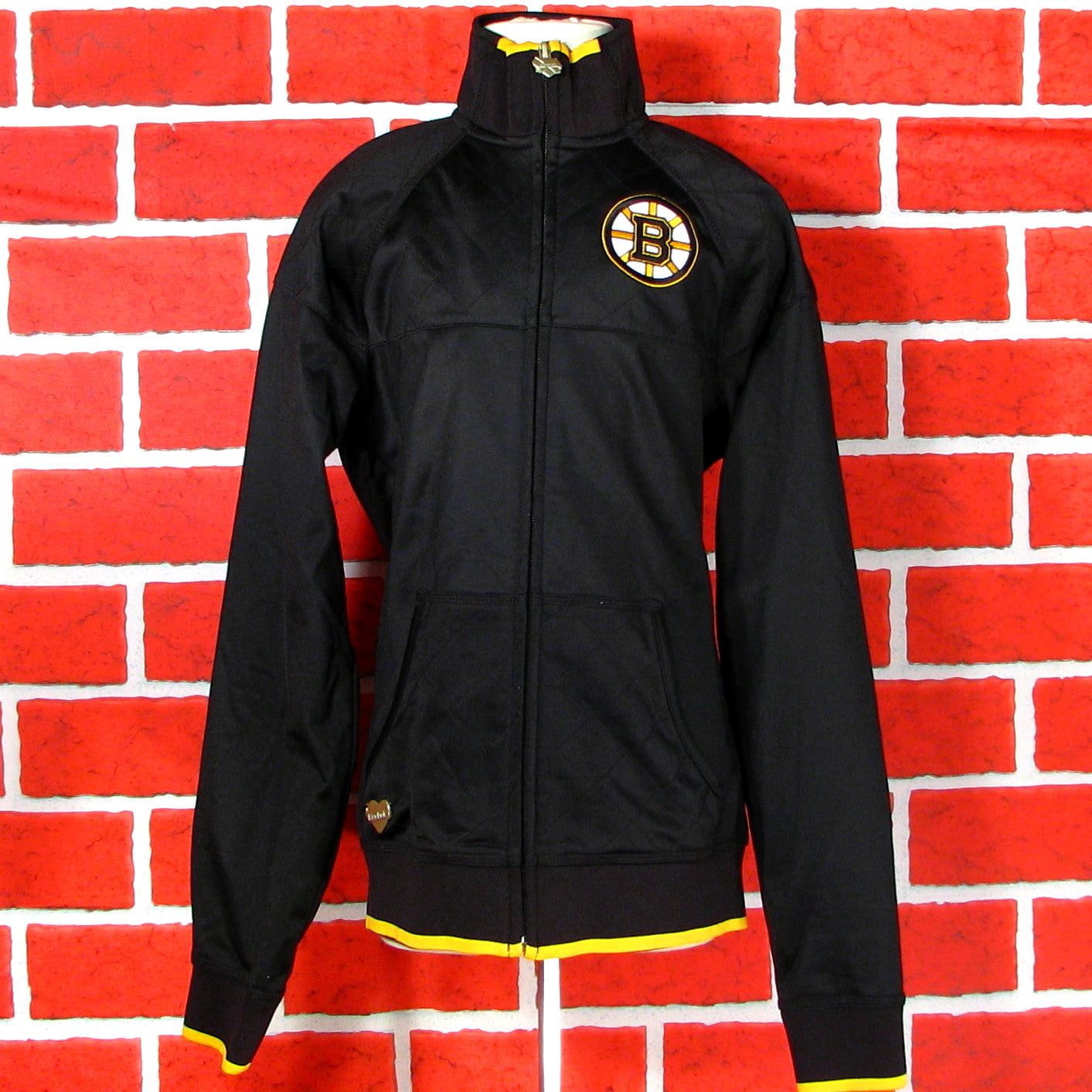 Boston Bruins Polyester Jacket Youth Girls/womens