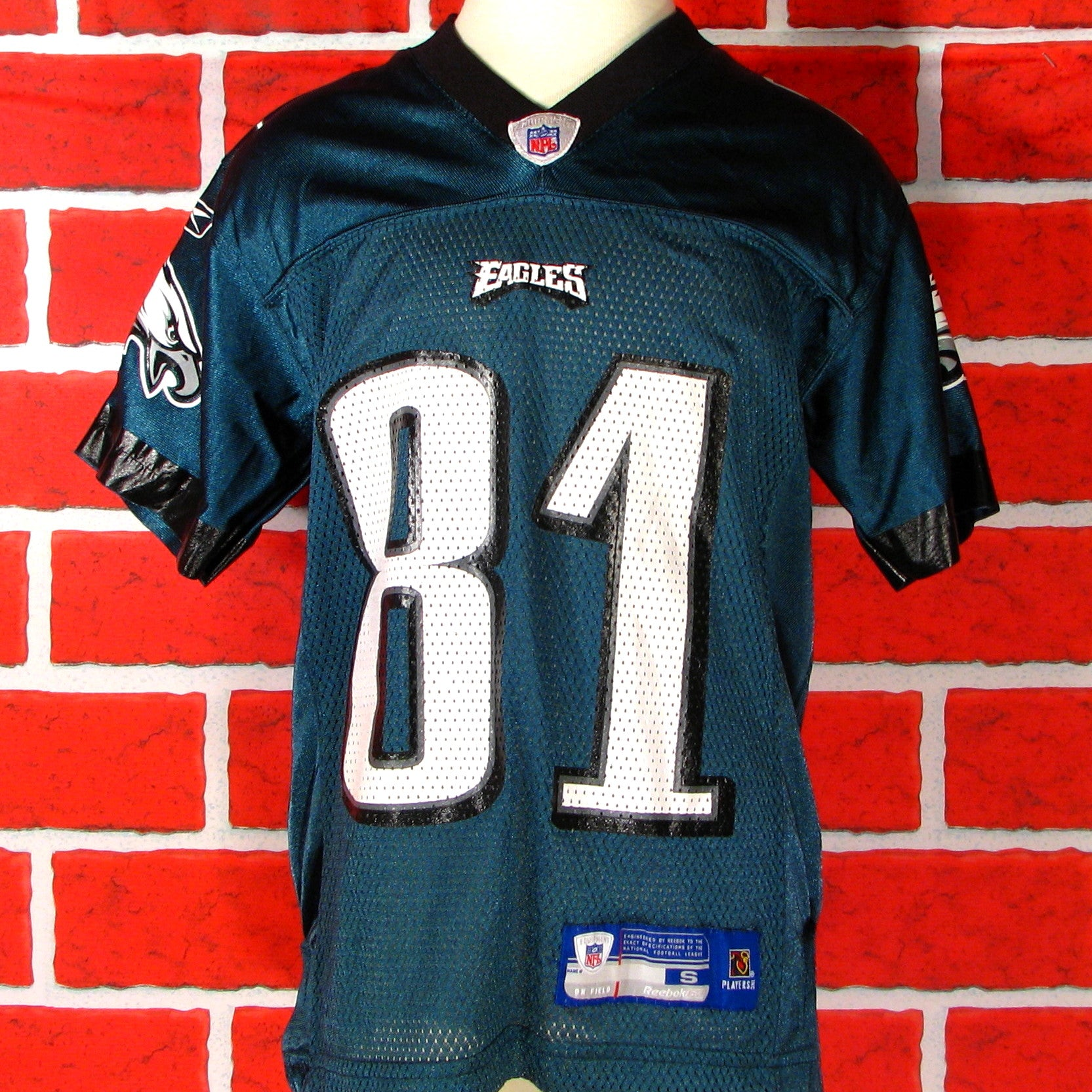 new product fe8cb 7a396 Philadelphia Eagles Owens # 81 Jersey Youth
