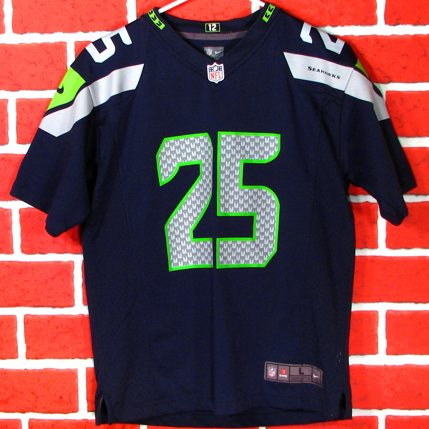 meet ebbdd 40f3b Seattle Seahawks Sherman # 25 Jersey Youth