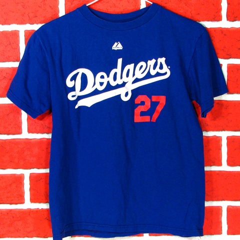 Los Angeles Dodgers Kemp # 27 T-Shirt Youth