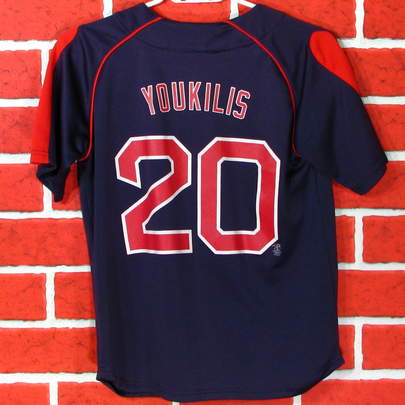 Boston Red Sox Youkilis # 20 Jersey Youth