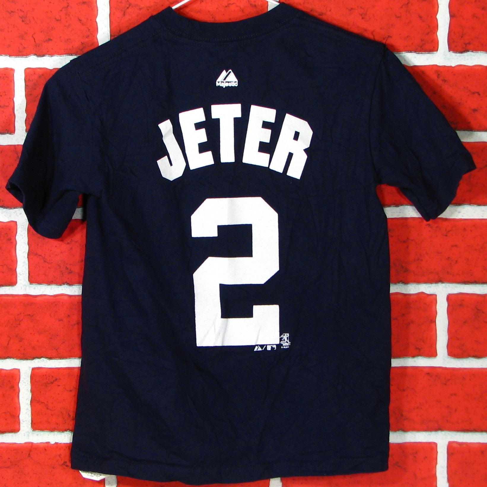quality design 736a9 bf661 New York Yankees Jeter # 2 T-Shirt Youth