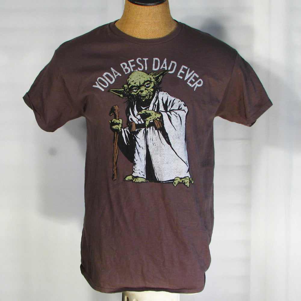 Star Wars Yoda Best Dad Ever T-Shirt