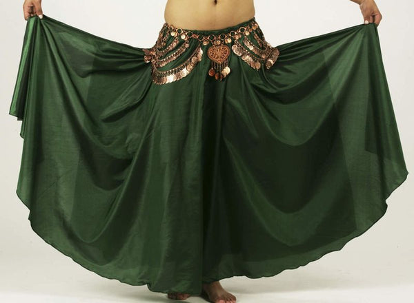 Belly Dance Costume Circle Skirt