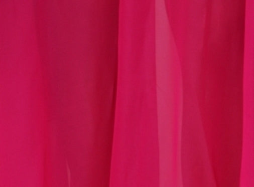 Fuchsia 3 Yard Chiffon Belly Dance Veil