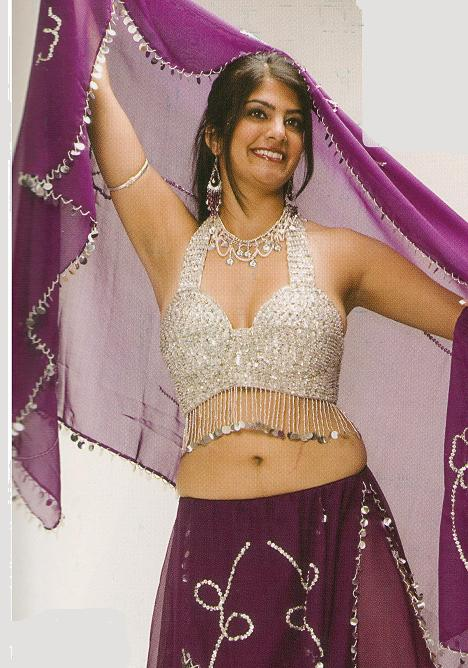 Sequin Bead Decorated Belly Dance Costume Bra Top