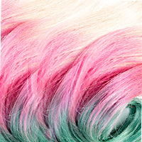 OMBRÉ - Beach Blonde & Pink & Green