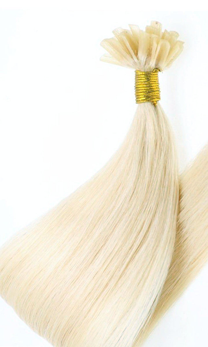Premium Line Beach Blonde Keratin Bond Hair Extensions