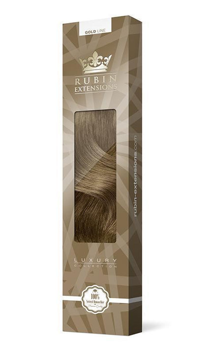 PRO-DELUXE LINE Light Natural Brown Clip-in Hair Extensions