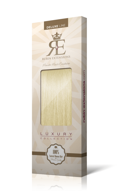 Deluxe Line Clip-in Golden Blonde Hair Extensions