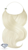 PURE DIAMONDS LINE Golden Queen Blonde Flip-in Hair Extensions