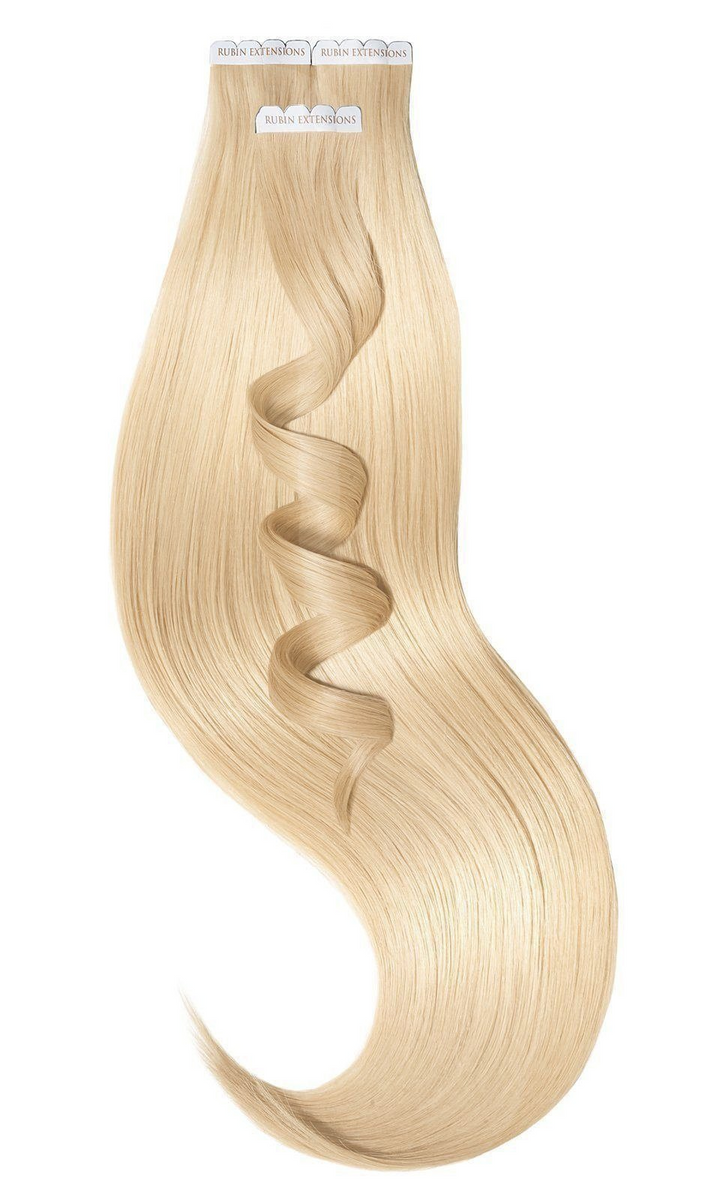 PREMIUM LINE Honey Blonde Tape-in Hair Extensions from Rubin Extensions USA