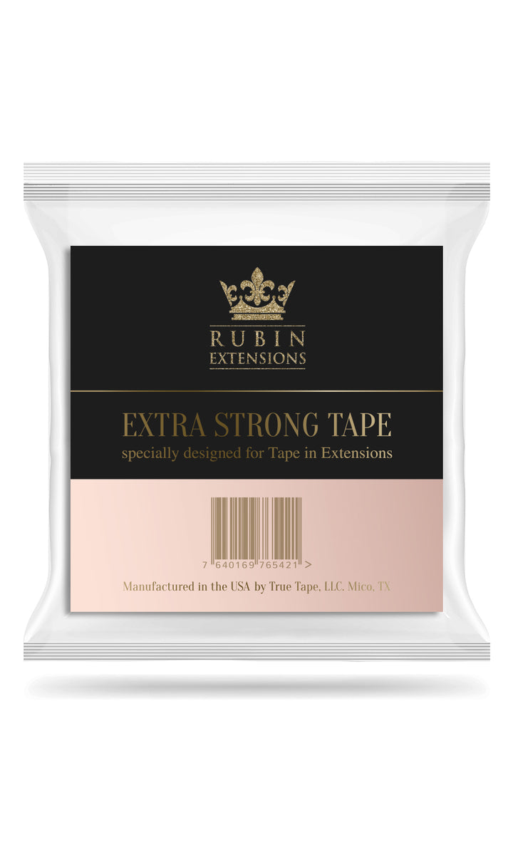 Replacement Tapes for Hair Extensions in a Roll