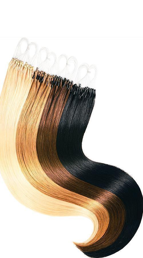 Various colors for microring hair extensions USA
