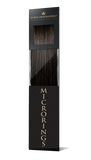 PRO DELUXE LINE Espresso Black Microring hair extensions
