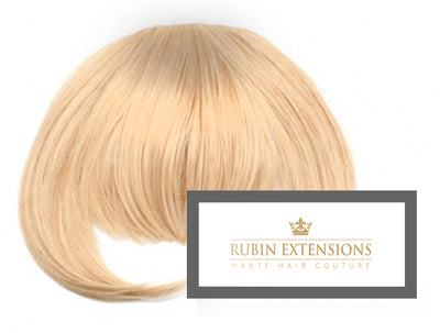 Clip-in FRINGE Honey Blonde Hair Extensions