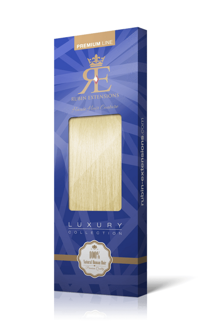 PREMIUM LINE Golden Queen Blonde Human Tape-in Hair Extensions