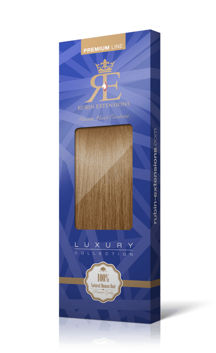 Premium Line Salty Caramel Human Hair Tape-in Extensions