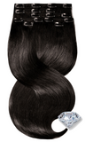 Rubin Extensions USA Espresso Black Clip-in Hair Extensions