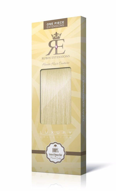 Golden Queen Blonde One Piece Hair Extensions