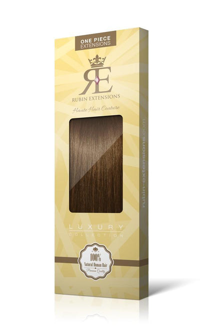 RUBIN LINE Light Natural Brown Flip-in Hair Extensions