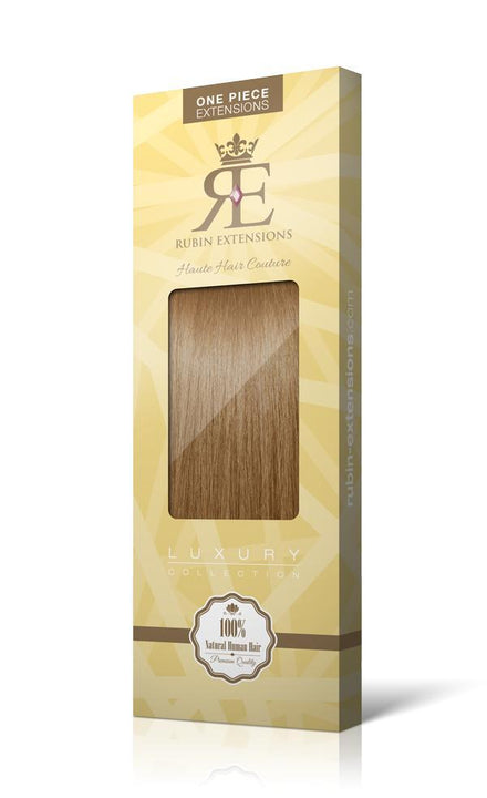 RUBIN LINE Salty Caramel One Piece Human Hair Extensions