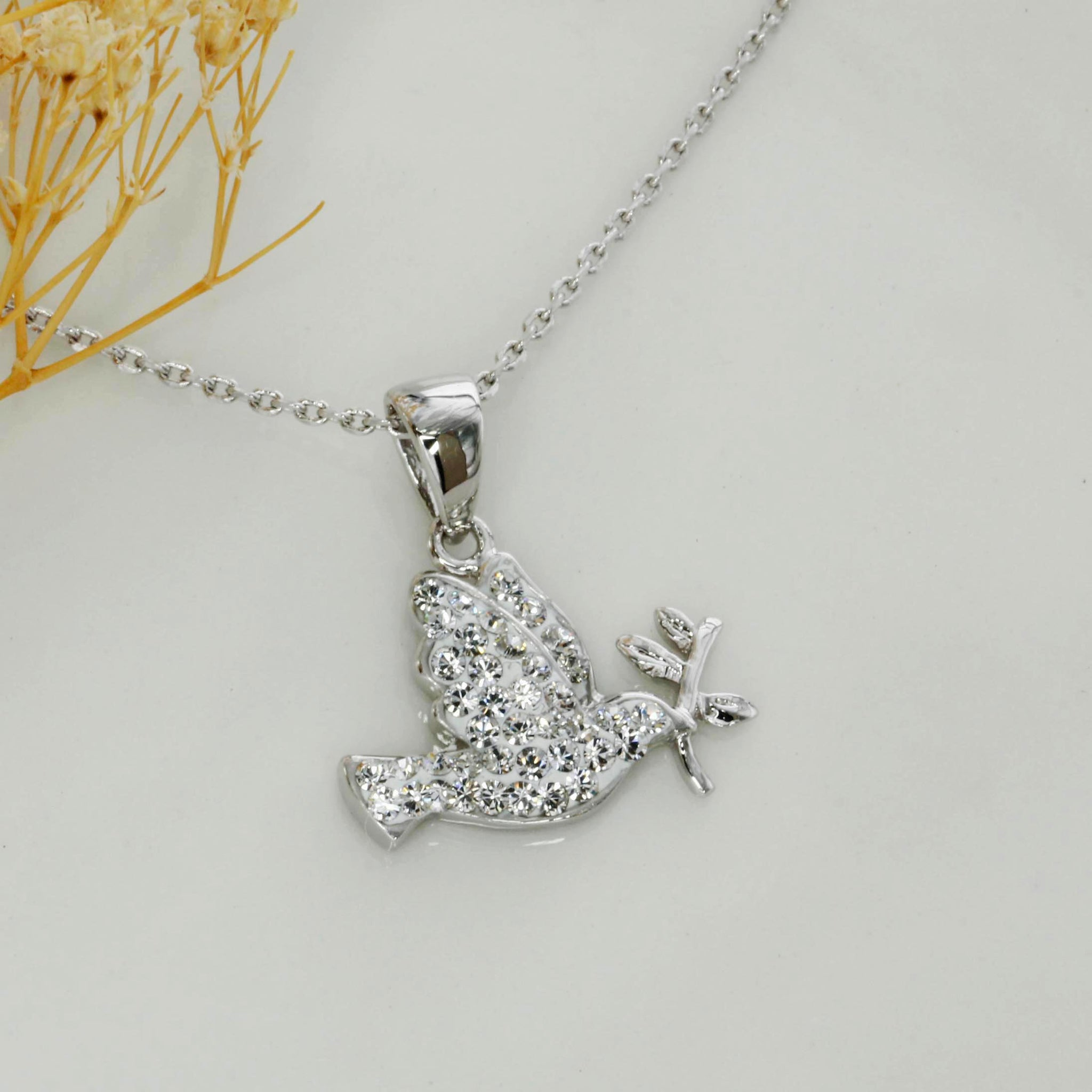 sterling bird robin deer and of stars la silver product necklace stag pendant home star jewellery juniper necklaces