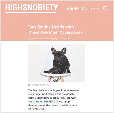 Highsnobiety - Turn Canine Heads with These Pawmain Accessories