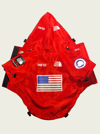 <h4>Expawdition Windbreaker Red</h4>  <p><h8> RTX Series©</p></h8>